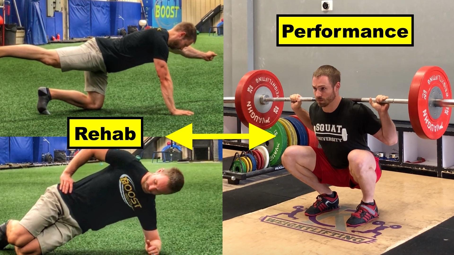 Core Training Bridging Rehab To Performance Squat University